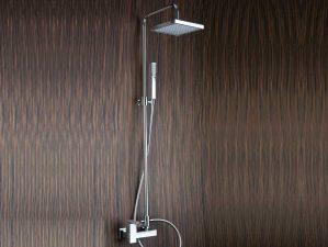 Toblino-09 - Chrome-Komplett-Aufputz-Dusche