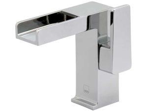 Synergie-100 - Chrome-Waschbecken-Aufsatzarmatur