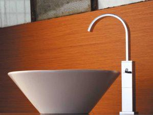 Terlago-493 - Chrome-Waschbecken-Aufsatzarmatur