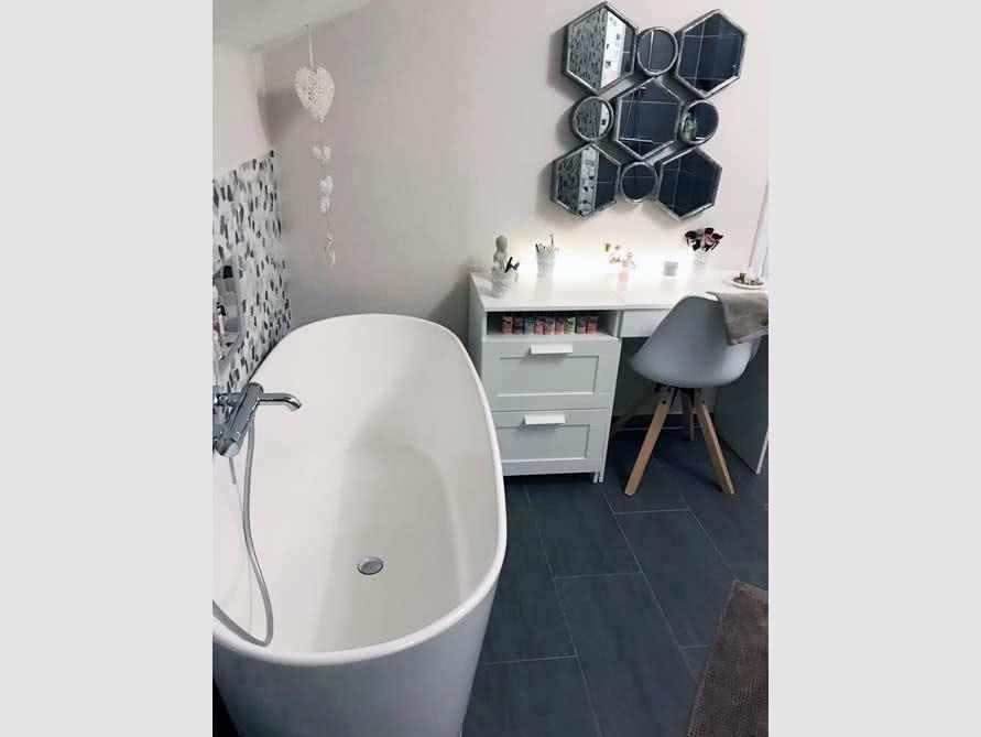 Bäder-Idee mit der freistehenden Badewanne Bellagio