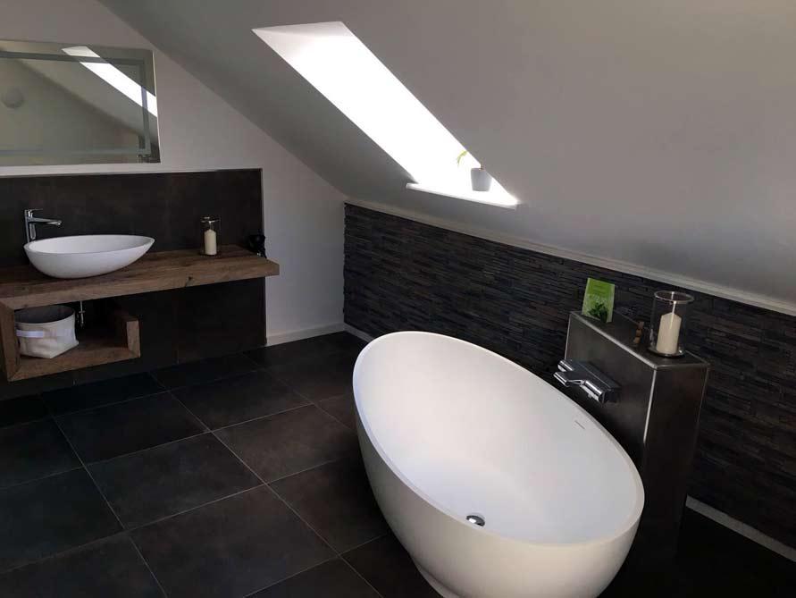 Bäder-Idee - Campione - freistehenden Badewanne - Badezimmer ...
