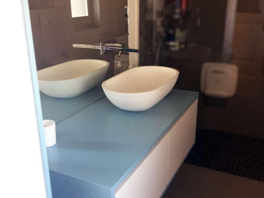 Bäder-Idee mit der freistehenden Badewanne Como