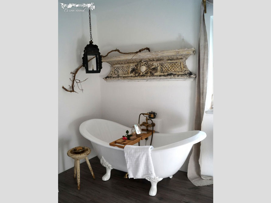 Bäder-Idee mit der freistehenden Badewanne Edinburgh
