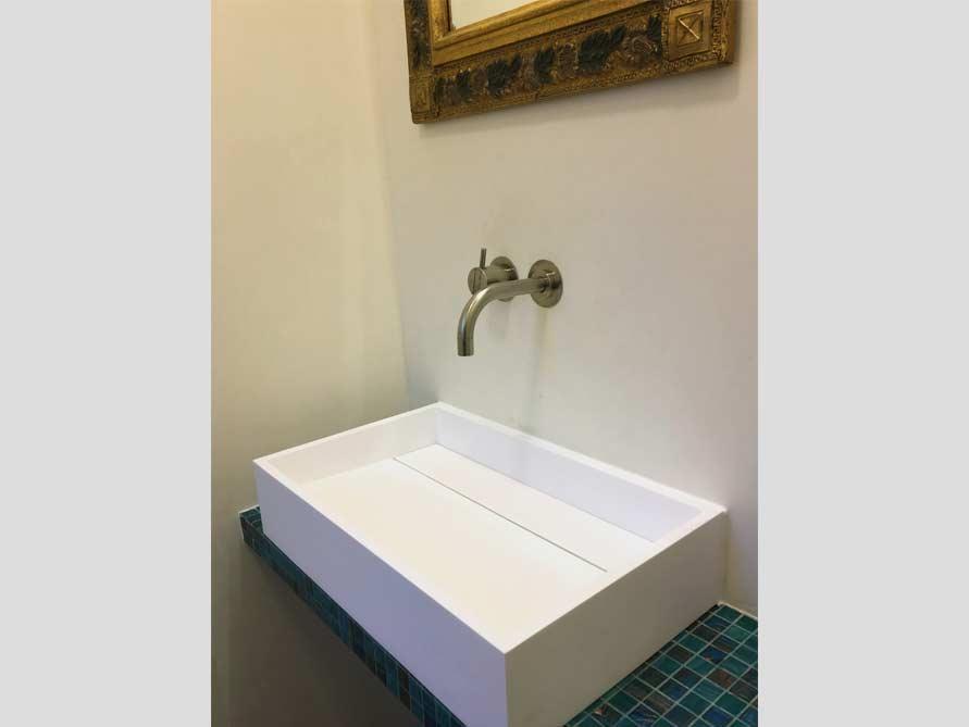 Bäder-Idee mit der freistehenden Badewanne Firenze