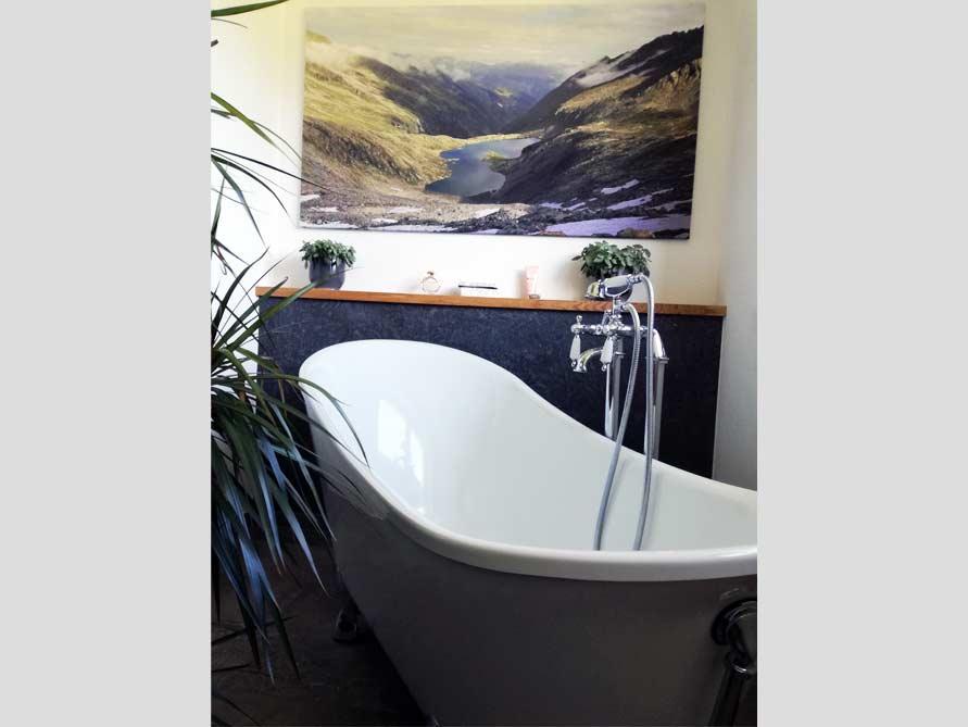 Bäder-Idee mit der freistehenden Nostalgie Badewanne Kingston 175