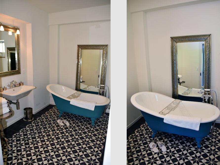 Bäder-Idee mit der freistehenden Badewanne Liverpool