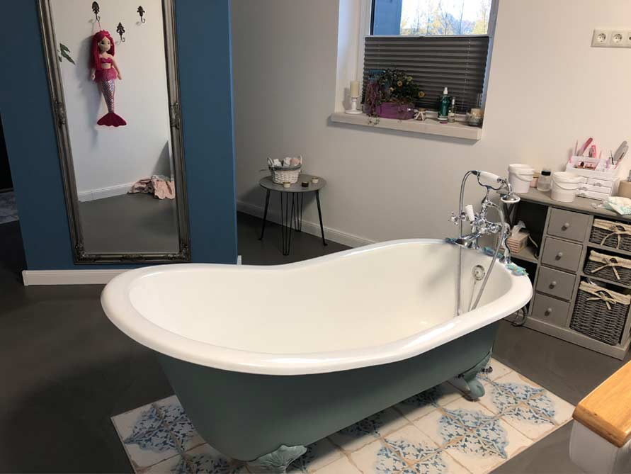 Bäder-Idee mit der freistehenden Badewanne Liverpool Big