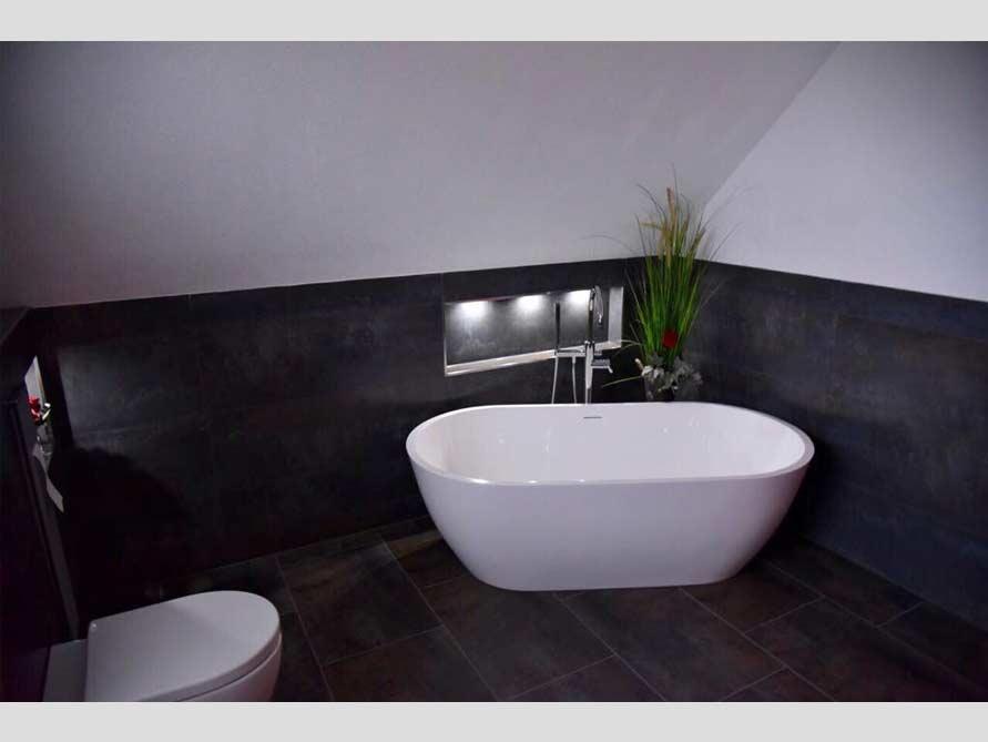 Bäder-Ideen Mit Freistehende Badewanne Montecristo Aus