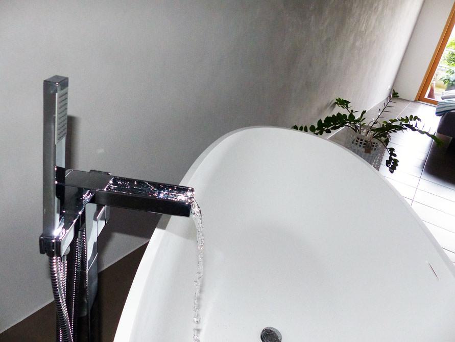 Bader Idee Piemont Freistehenden Badewanne Fliesen Piemont