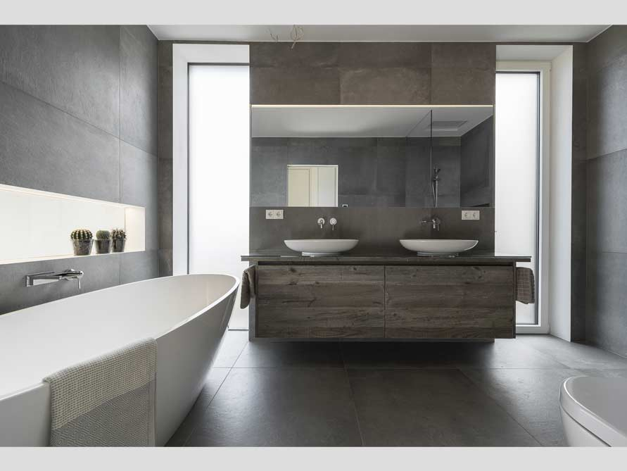 b der ideen mit freistehende badewanne piemont aus mineralguss. Black Bedroom Furniture Sets. Home Design Ideas