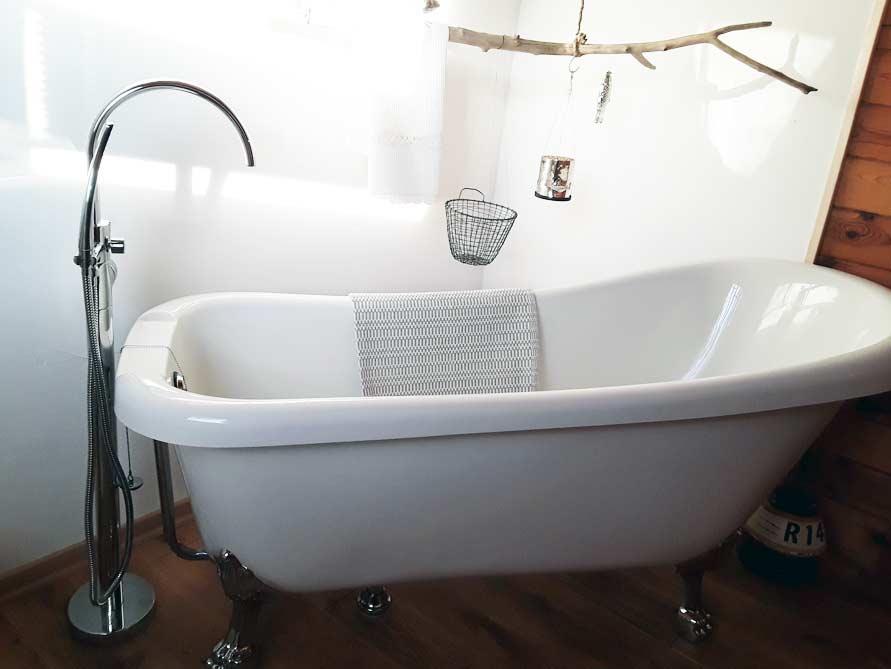 Bäder-Idee mit der freistehenden Nostalgie Badewanne Portland