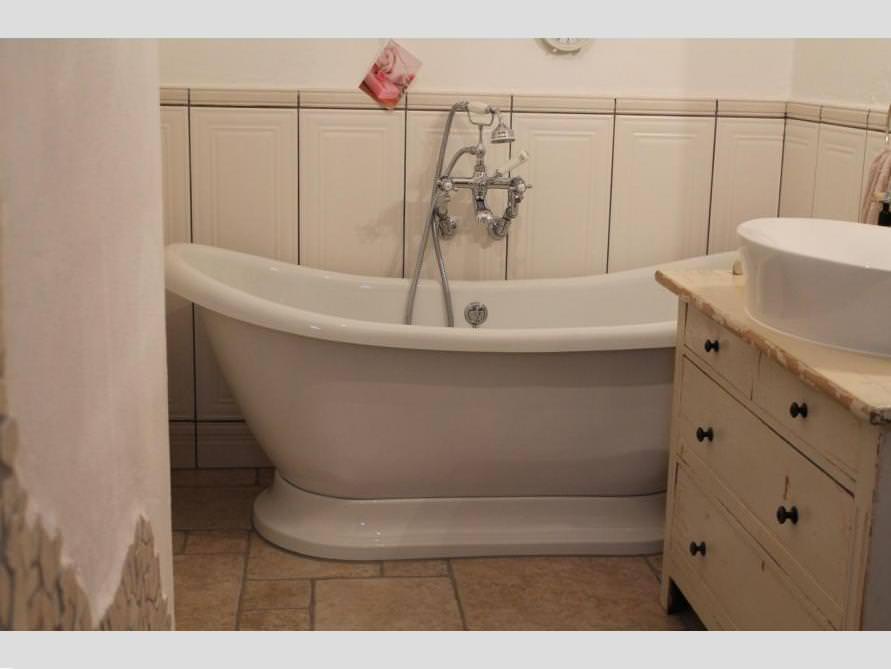 Bäder-Idee mit der freistehenden Nostalgie Badewanne Worcester